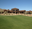 The 50,000-square-foot clubhouse at the Ritz-Carlton Golf Club at Dove Mountain in Marana, Ariz., features natural lead stone and extensive travertine brickwork.