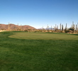 There are two large practice greens at the Ritz-Carlton Golf Club at Dove Mountain in Marana, Ariz.