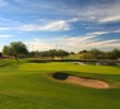 The 16th hole on the ASU Karsten Golf Course is a stout par 3, playing as long as 248 yards.