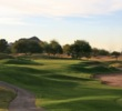 The par-3 sixth hole on the ASU Karsten Golf Course plays as long as 209 yards.