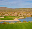 The par-3 13th at Wickenburg Ranch Golf & Social Club can play as long as 240 yards.