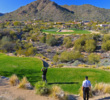 The views don't get much better than the par-3 17th at the SunRidge Canyon golf course in Fountain Hills, Arizona.