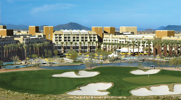 North Phoenix Mariott Golf Spa Hotel