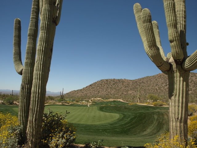 Ritz-Carlton Golf Club, Dove Mountain - Tortolita - hole 6