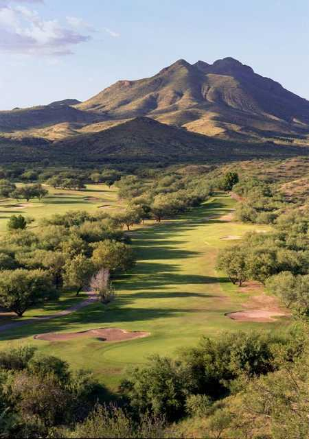 A View Of Green Protected By Sand Traps And Fairway At Rio Rico Golf Club