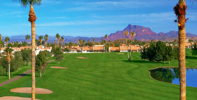 painted mountain golf resort in mesa