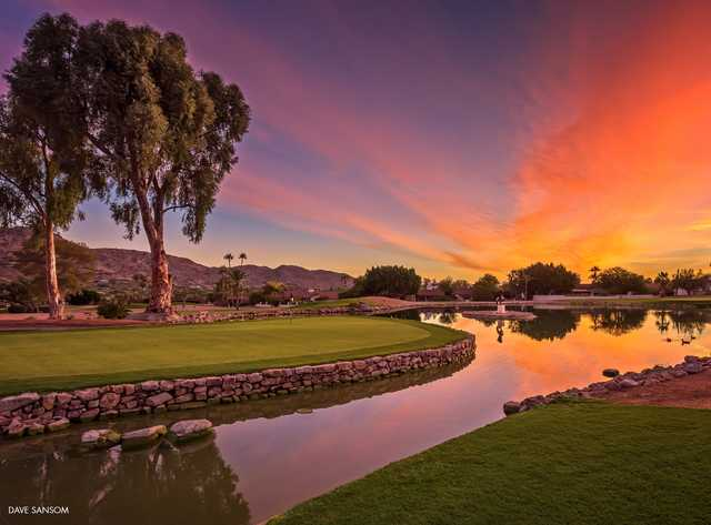 Mountain Shadows Golf Course In Scottsdale