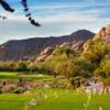A view of hole #7 from South at Boulders Golf Club & Resort.