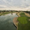 View of the 18th hole at Western Skies Golf Club