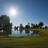 A sunny day view of a hole from Francisco Grande Hotel & Golf Resort.