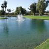 A view over the water from Orange Tree Golf Club.