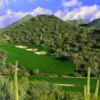 A view of fairway and green #8 at Quintero Golf & Country Club