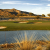 A view of the 18th green from #10 tee box at Verrado Golf Club