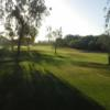 A view of a fairway at Los Caballeros Golf Club.