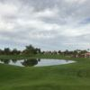 A view over a pond at Ocotillo Golf Club.