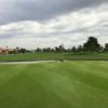 A view of a green at Ocotillo Golf Club.