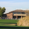 A view of the clubhouse at Peoria Pines Golf Club