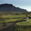 A view from tee #4 at Roadrunner from Starr Pass Golf Club.