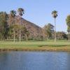 A view of a hole from Tres Rios Golf Course at Estrella Mountain Park.