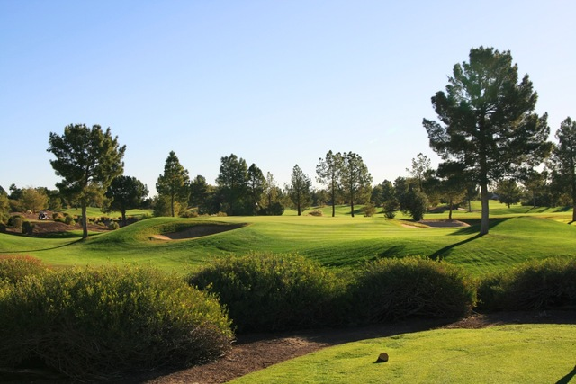 The par 3 second hole at the raven golf club phoenix is short but