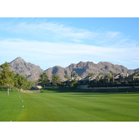 Arizona Biltmore Golf Club's Links Course weaves around with mountains overhead.