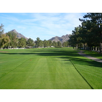 Forget the Arizona desert. You'll only see green on the Links Course at Arizona Biltmore Golf Club in Phoenix.