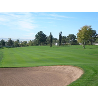 Uneven lies are part of the deal on the Links Course at Arizona Biltmore Golf Club in Phoenix.