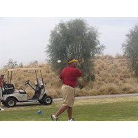 A view of the golf course at Southern Dunes Golf Club in Maricopa, Arizona.