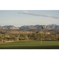 The Saguaro Course at We-Ko-Pa Golf Club features views of the McDowell Mountains from most points.