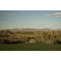 The 11th hole on the Saguaro Course at We-Ko-Pa Golf Club is a nearly 200-yard par 3.