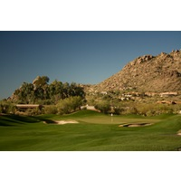 The North Course at Boulders Resort's fourth hole is a straightaway 404-yard par 4.