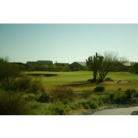 "The Golf Club at Vistoso's 11th hole is named ""Saguaro."""