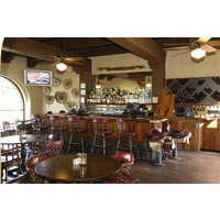 After golf, Stables Ranch Grille offers lunch or dinner in a casual, Old West setting.