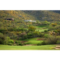 Arizona National Golf Club tumbles up and down the foothills throughout the round.