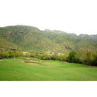 Arizona National Golf Club's 10th hole is a long, uphill par 4.