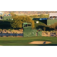 The drivable 17th at the Waste Management Phoenix Open often plays a role in who wins the tournament.