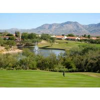 Located 15 miles nort of Tucson, Arizona, The Views Golf Club at Oro Valley blends seamlessly into its beautiful desert surroundings.