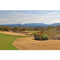 The par-5 eighth hole on the Cholla Course at We-Ko-Pa Golf Club will be tweaked during a renovation this summer.
