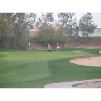 Coyote Lakes Golf Club - Phoenix Scottsdale - Hole No. 5 green