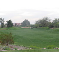 Coyote Lakes Golf Club - Phoenix Scottsdale - Hole No. 8 - Green approach