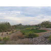 Coyote Lakes Golf Club - Phoenix Scottsdale - Hole No. 10, desert clear from tees