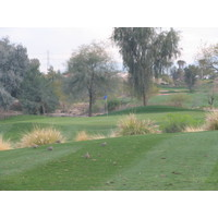 Coyote Lakes Golf Club - Phoenix Scottsdale - Hole No. 12, teeny tiny par 3 from tees