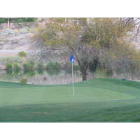 Coyote Lakes Golf Club - Phoenix Scottsdale - Water behind No. 12 green