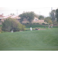 Coyote Lakes Golf Club - Phoenix Scottsdale - Hole No. 13, shooting fountain approach