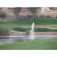 Coyote Lakes Golf Club - Phoenix Scottsdale - Hole No. 14 shooting fountain