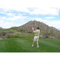 At Starr Pass Coyote, it's the golfer vs. the desert.