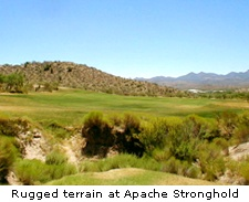 Rugged terrain at Apache Stronghold