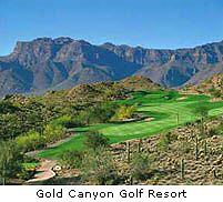 Golf Gold Canyon
