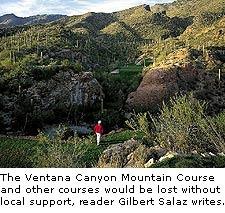 The Ventana Canyon Mountain Course