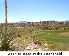 Wash to cross at the Stronghold